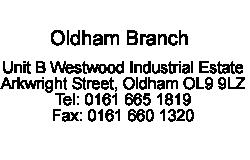 Oldham branch