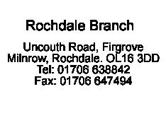 Rochdale branch